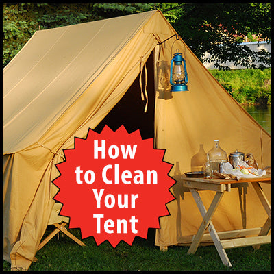 How to Clean and Look After Your Tent