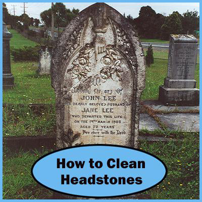 How To Clean Headstones and Graves