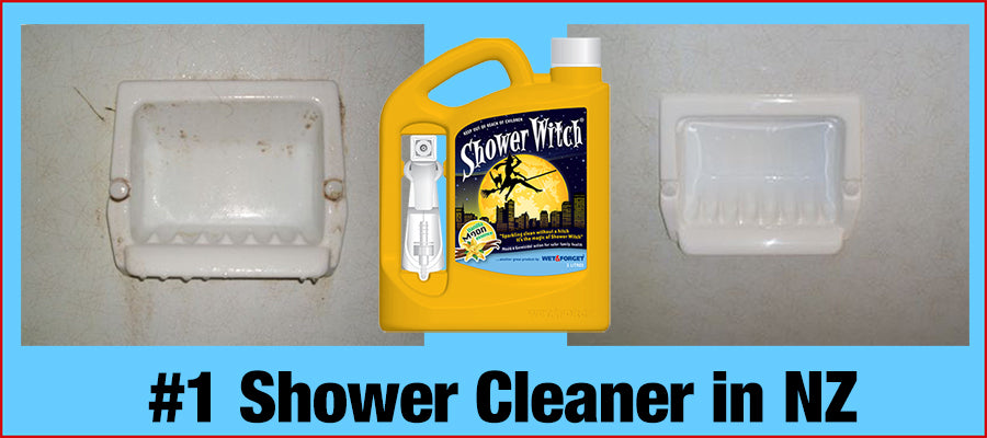 Shower Witch is NZ's #1 Shower Cleaner