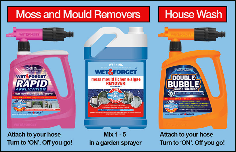 Choose from 3 Products to Clean Your House