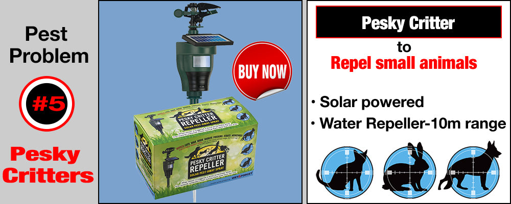 Pesky Critter Repeller - water Repeller for annoying animals