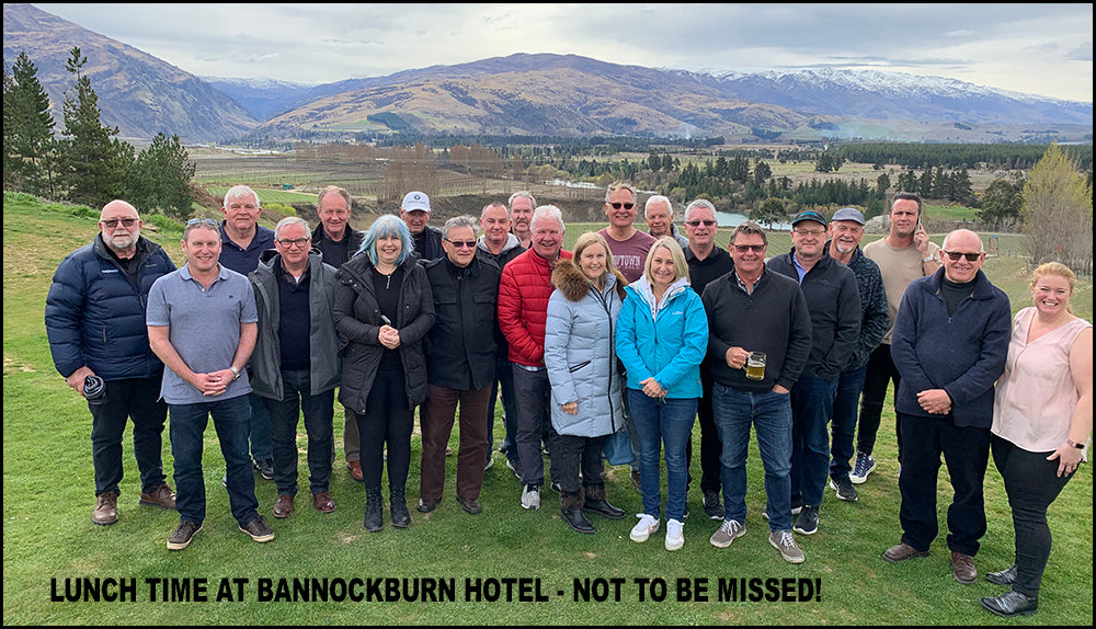 Lunch at Bannockburn Hotel with the Staff