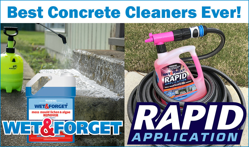 Best Concrete Cleaners ever made by Wet and Forget