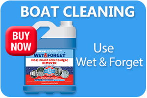 Clean the Exterior of Your Boat with Wet and Forget