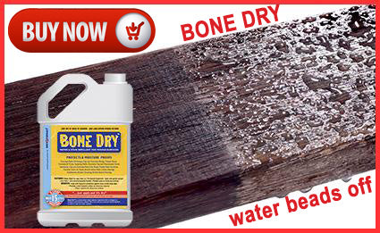 Use Bone Dry to Seal Porous Surfaces