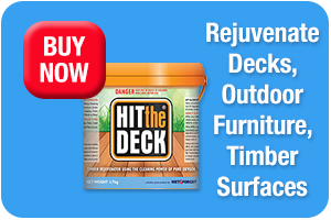 Rejuvenate All Timber Surfaces with 'Hit The Deck'