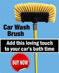 Petrol Head Car Cleaner Needs this Gentle Brush to Partner With