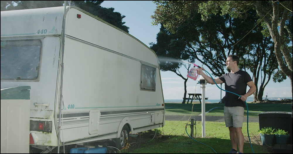 Spray To Clean Your caravan with Rapid Application