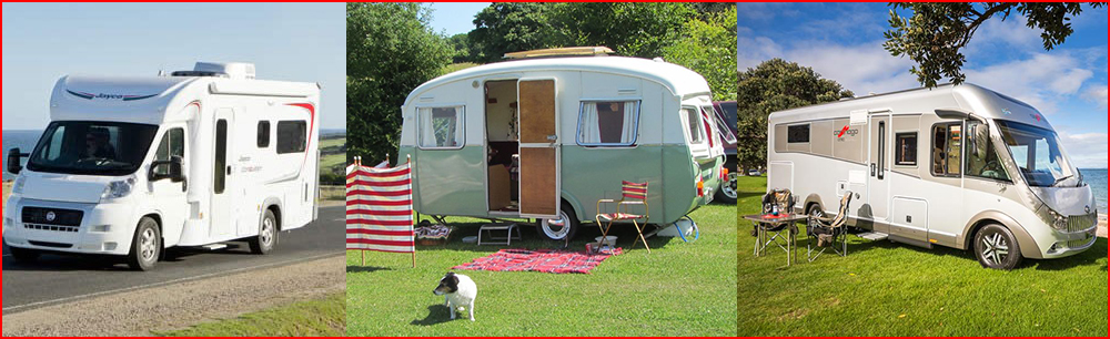 Caravans and RV's are easy to clean with Rapid Application