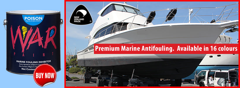 Get More Longevity from Your Antifoul with WarPaint Antifoul