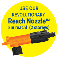 Double Bubble House Wash-Reach Nozzle
