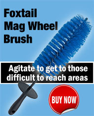 This Foxtail Mag Wheel Brush Gets To Those Hard to Reach Areas