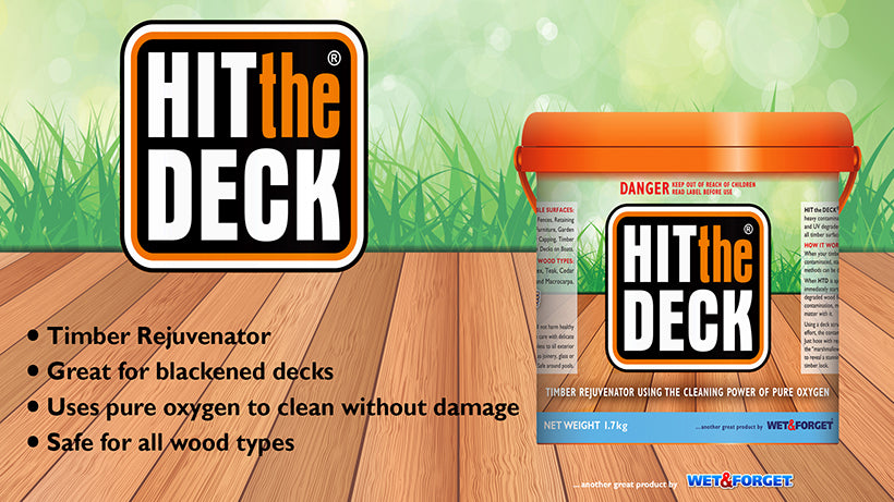 Hit The Deck Cleans Dirty Decks Quickly with Immediate Results