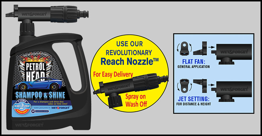 Petrol Head Has a Revolutionary Application Nozzle for Speed and Ease of Use