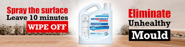 Kill Internal Mould & Mildew with Wet & Forget's Indoor