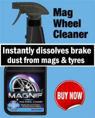 This Mag Wheel Cleaner by Wet & Forget Instantly Dissolves Your Brake and Tyre Dust