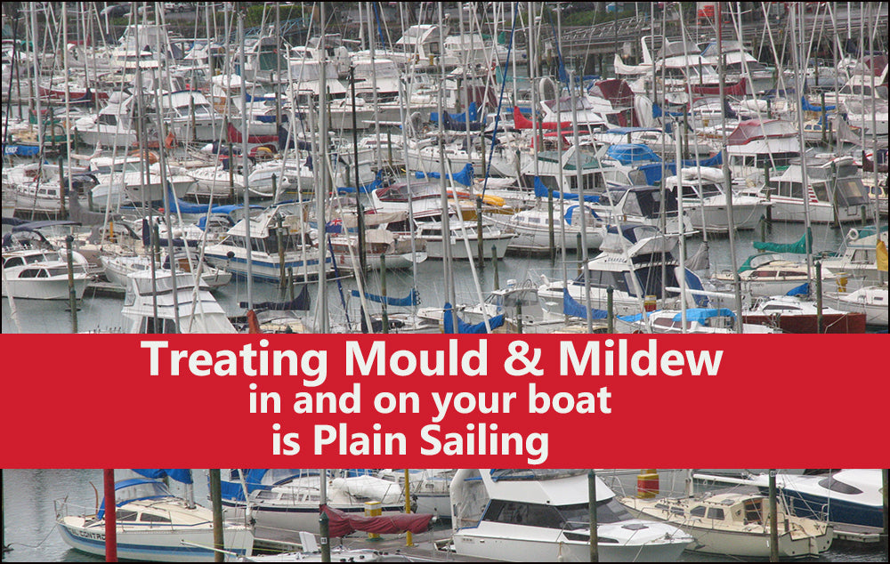 Treating Mould on Your Boat is Easy with Wet & Forget Products