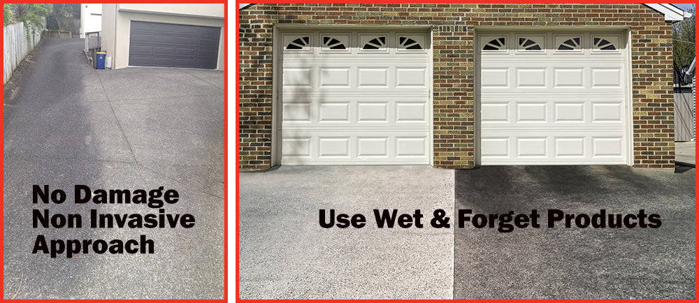 Wet and Forget Driveway Cleaners Will Not Damage Your Driveway