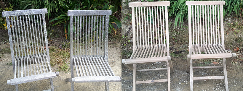 You can't beat this deck cleaner for outdoor furniture
