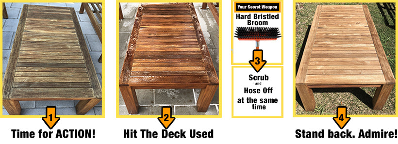Hit The Deck is the Best Deck Cleaner So Get on with It and see the Difference