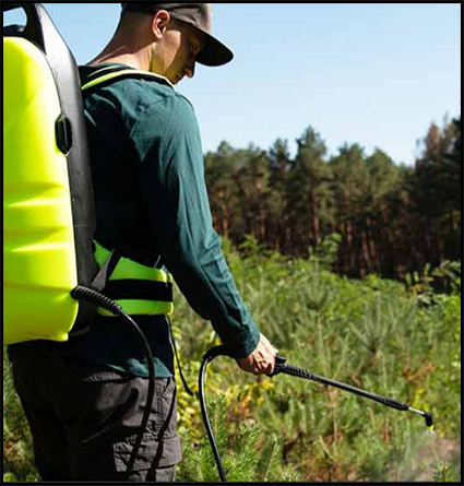 Spray with Ease - 12L Electric Back Pack Sprayer from Wet & Forget
