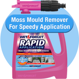 Rapid Application to Remove Moss Mould & Lichen