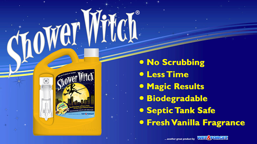 Shower Witch is the Best Selling Shower Cleaner for Obvious Reasons