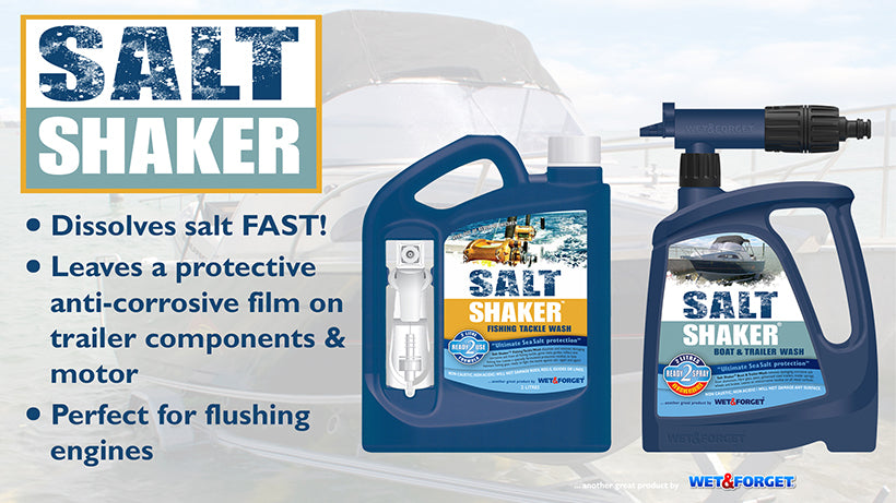 Use Salt Shaker Products to Prevent Salt Corrosion on Boats