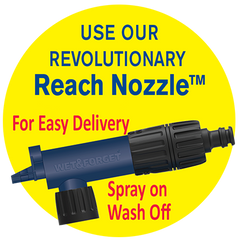 Salt Shaker Trailer and Boat Wash with Reach Nozzle Attachment