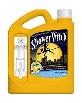 Shower Witch is a Magical Cleaner