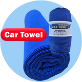 Thirsty Petrol Head Towels Soak Up the Excess Water with Ease
