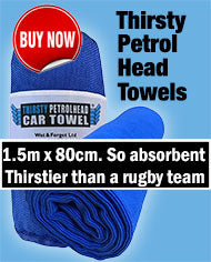 Petrol Head Thirsty Towels are Incredibly Absorbent for Drying Off Car s