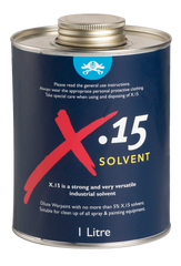 Solvent Compatible with War Paint Antifoul