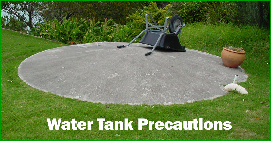 Water Tank Precautions When Cleaning Your Roof