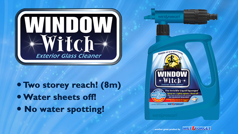 Window Witch is the Best Exterior Window Cleaner on the Market
