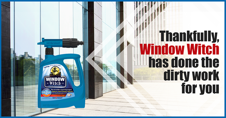 Window Witch is No Longer a Daunting Task When You Clean With Window Witch