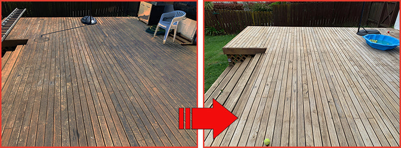 See the Hit The Deck Difference When You Clean Your Deck