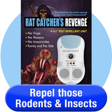 Rat Catcher's Revenge Repels Rodents & Insects