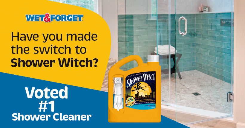 Make the Switch to Use Shower Witch for Bathroom Cleaning