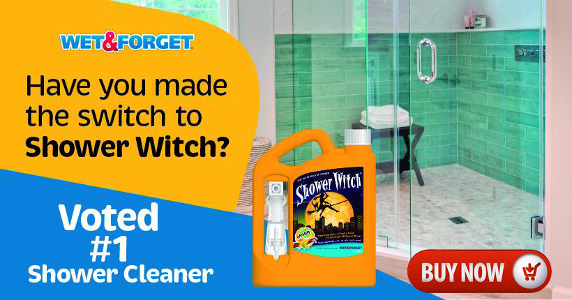 Shower Witch is the number 1 Shower Cleaner