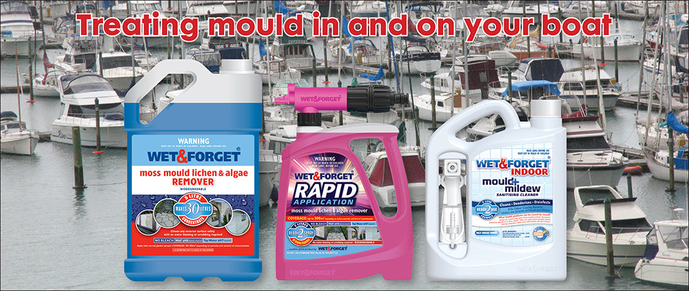 Treat Mould on Your Boat with Wet & Forget Products That Work