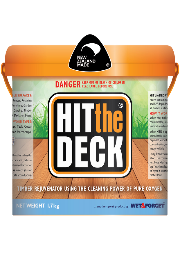 Hit The Deck - Deck Cleaner