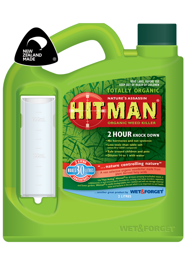 Hitman Concentrate Weedkiller (Organic)