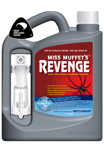 Miss Muffet's Revenge Spider Control