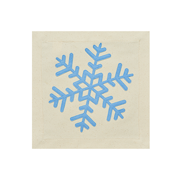 Snowflake Pillow Panel