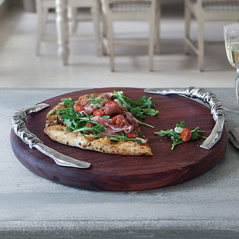 Soho Galena Round Cutting Board