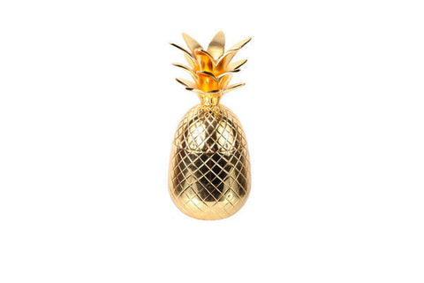 Gold Pineapple Jar