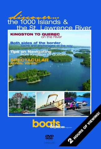 Discover Cruising: The 1000 Islands & St.Lawrence River - English