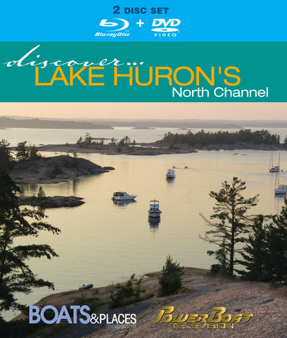 Blu Ray: Discover Cruising Lake  Huron's North Channel