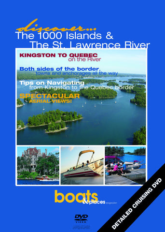 Discover Cruising: Thousand Islands & St.Lawrence River (Bilingual)